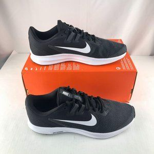 Nike Downshifter low top black running shoes 12